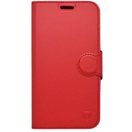 Bočné knižkové puzdro Samsung Galaxy Xcover 4 červené