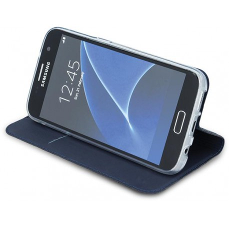Case Smart Premium for Samsung J5 2017 J530 EU version navy blue