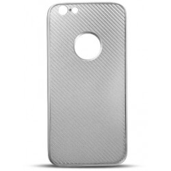 Full Cover Carbon for LG K8 2017 silver