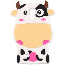 Animal 3D Case Cow for iPhone 7 yellow