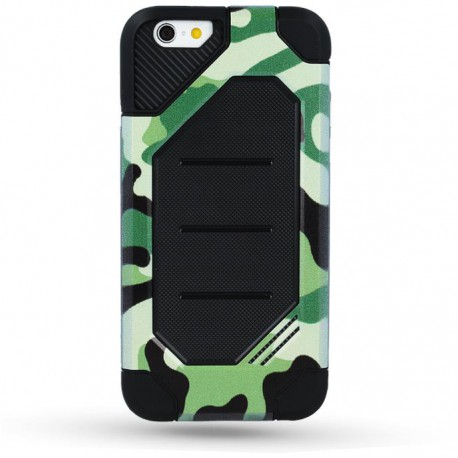 Defender Army case for iPhone 6 Plus green