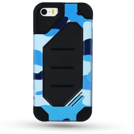 Defender Army case for Sam A5 2017 A520 blue