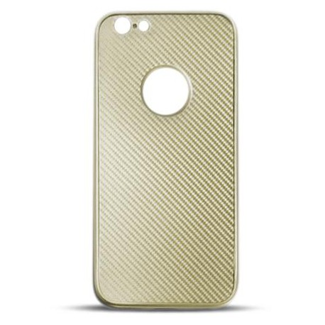 Full Cover Carbon for Iphone 7 Plus gold
