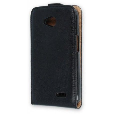 Leather case PLUS New for Huawei Y6 2017 black