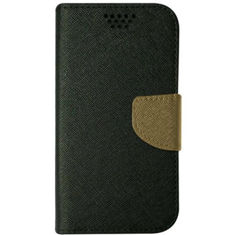 Case Smart Universal Fancy Silicon 5,5&quot, 87x159 black-gold
