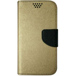 Case Smart Universal Fancy Silicon 5,5&quot, 87x159 gold-black