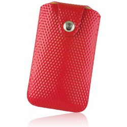 Case SLIM UP Diamond XXL Sam i9100 red