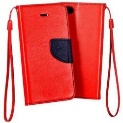 Flexi color book púzdro na Sony Xperia XA1 Ultra - červené