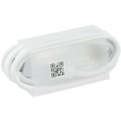 Original USB Cable - LG EAD63849204 micro USB type C, 90 cm, biely, bulk