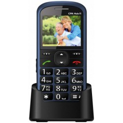 Telefon SENIOR - CPA HALO 11 - modrý