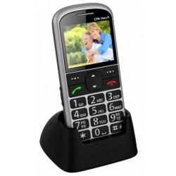 Telefon SENIOR - CPA HALO 11 - strieborný