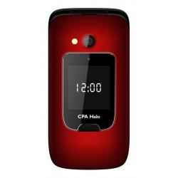 Telefon SENIOR - CPA HALO 15 - červený