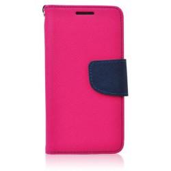 Flexi color book púzdro na Apple iPhone X - ružové - tmavo modré