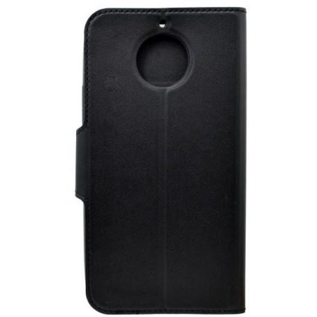 Bočné knižkové puzdro Moto G5s Plus čierne