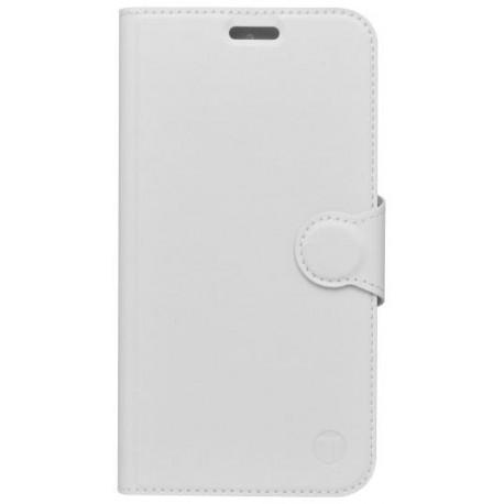 Bočné knižkové puzdro Moto G5s Plus biele