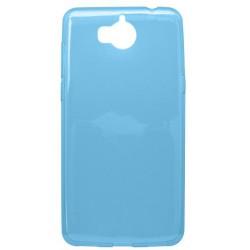 Gumené puzdro Huawei Y6 2017 modré, nelepivé