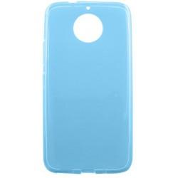 Gumené puzdro Moto G5s Plus modré, nelepivé