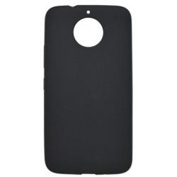 Gumené puzdro Pudding Moto G5s Plus čierne
