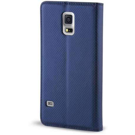 Case Smart Magnet for Motorola Moto C dark blue