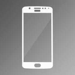 Ochranné sklo Q sklo Moto E4 biele, fullcover