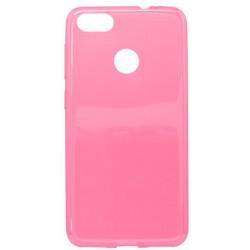 Gumené puzdro Huawei P9 Lite mini ružové, nelepivé