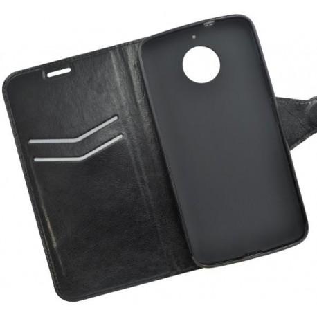 Bočné knižkové puzdro Moto G5s čierne