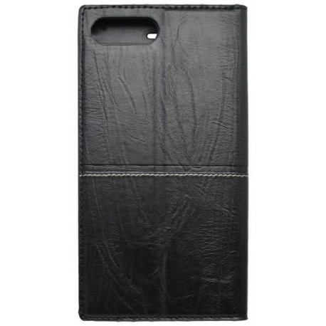 Knižkové puzdro Luxury iPhone 8 Plus čierne