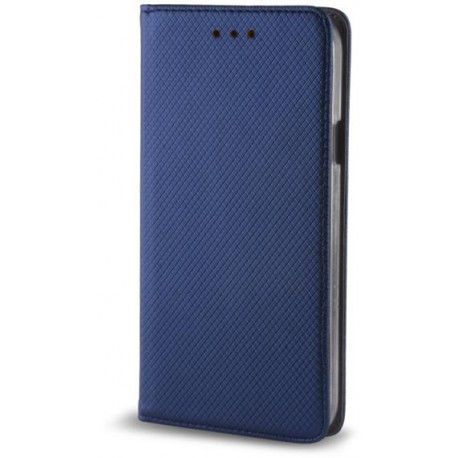Case Smart Magnet for Motorola Moto E4 Plus dark blue