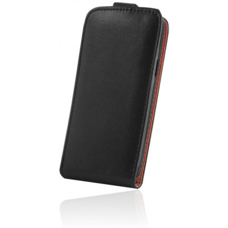 Leather case PLUS New Motorola Moto C Plus black