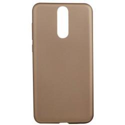 Silikónové puzdro Huawei Mate 10 Lite zlatá metalíza