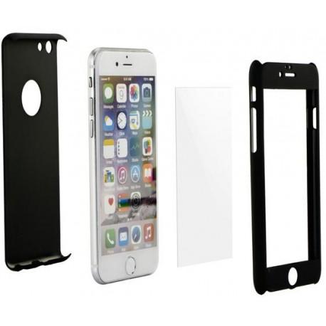 Celé silikónové púzdro + tvrdené sklo na Apple iPhone 7 Plus 42f5f5ebda2