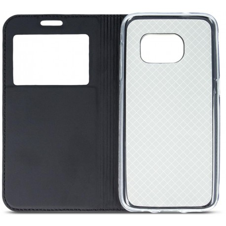 Case Smart Look for Samsung A8 2018 black